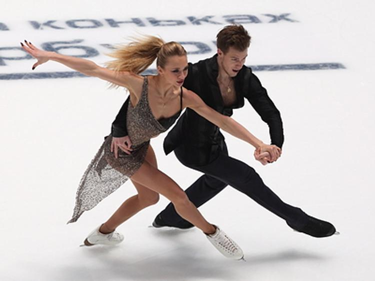 Виктория Синицина и Никита Кацалапов выиграли  этап Гран-при в Москве