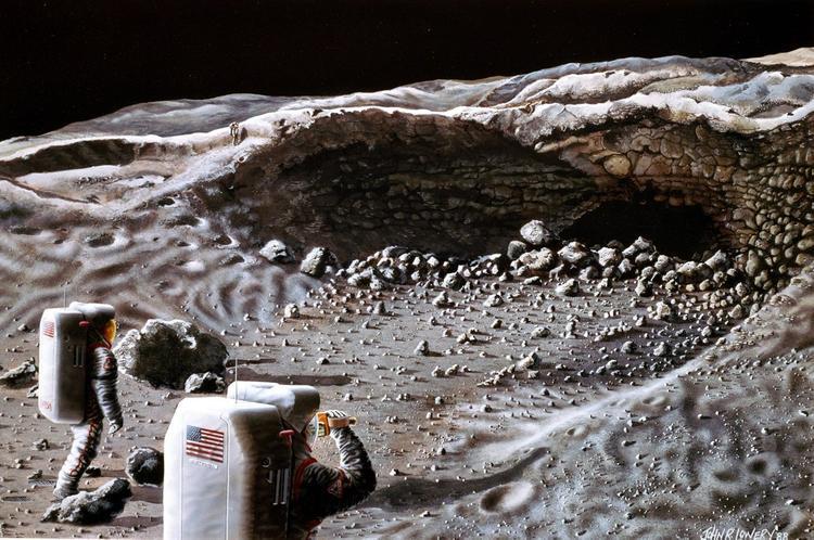 Тайна лунной деревяшки раскрыта