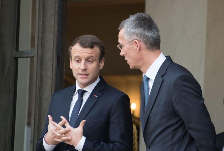 "Столтенберг обсудит с Макроном его слова о ""смерти мозга"" НАТО"