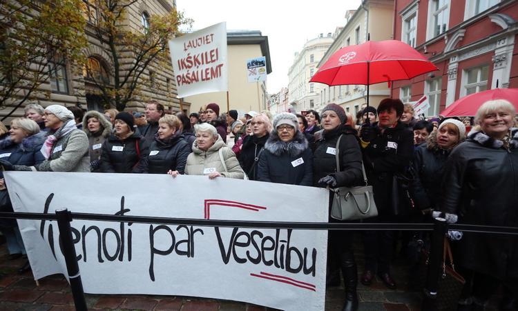 Медики Латвии готовы к новым забастовкам