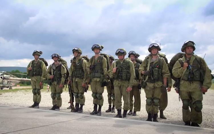 Группа «универсальных офицеров» завершила доподготовку с учетом опыта ведения боевых действий в Сирии