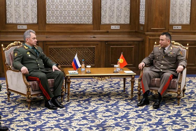Осуществляется совместное планирование применения российско-киргизской коалиционной группировки войск – Шойгу