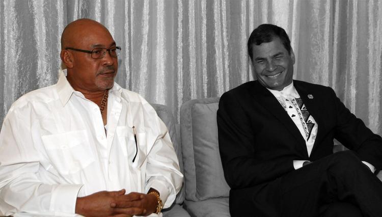 В Суринаме посадили действующего президента