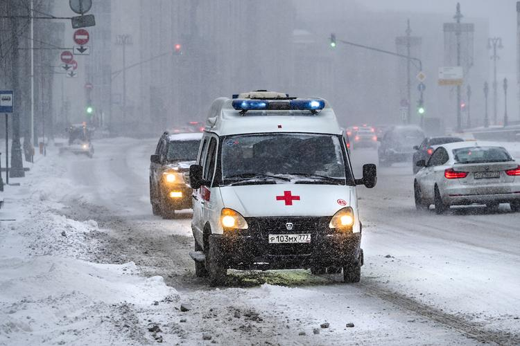 Под Белгородом перевернулся пассажирский автобус