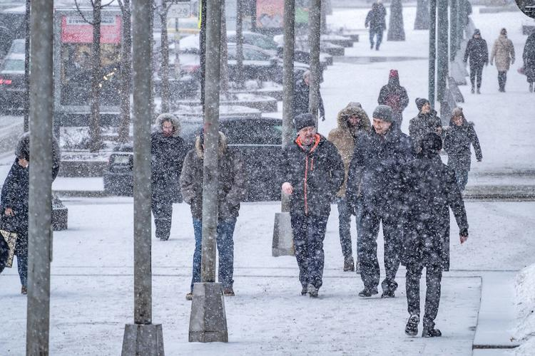 Синоптики предупреждают о надвигающейся на Москву метели