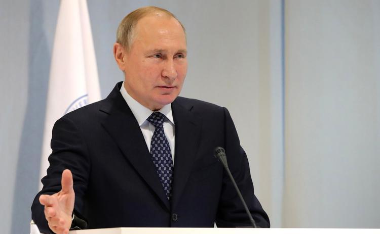 Скабеева показала видео с речью Путина в выключенный микрофон:
