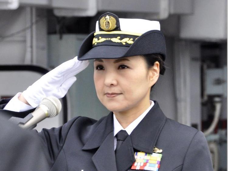 В Японии женщина стала капитаном военного корабля