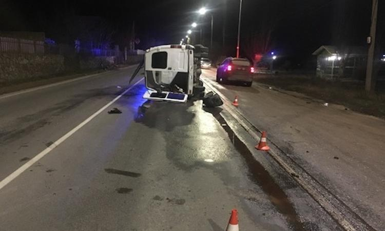 Оперативное видео погони со стрельбой  за пьяным водителем в Феодосии появилось в сети