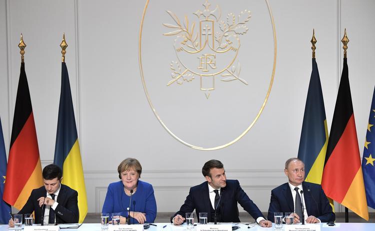 Путин оценил встречу с Зеленским