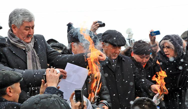 В Казахстане опасаются оппозиционных выступлений