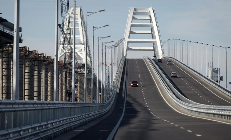 В Кремле назвали открытие Крымского моста одним из главных событий 2019 года