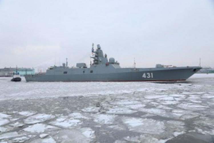 Военные Норвегии заявили, что испытания российского фрегата вызвали радиошумы