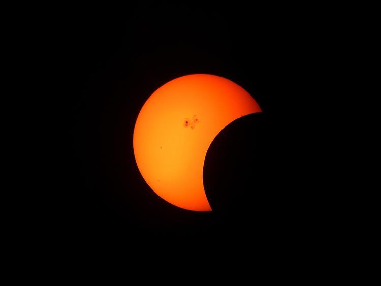 В Екатеринбурге в четверг произойдёт солнечное затмение
