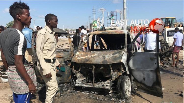 В Сомали десятки людей погибли в результате взрыва в Могадишо