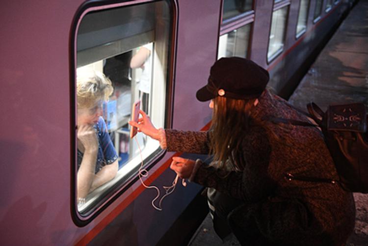 Пассажиры первого поезда Петербург - Севастополь включены в базу данных украинского сайта «Миротворец»