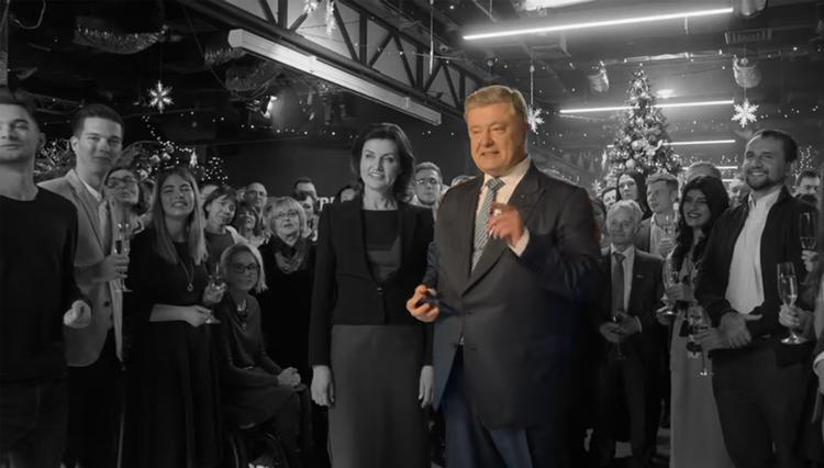 На Украине два телеканала показали обращение Порошенко вместо Зеленского