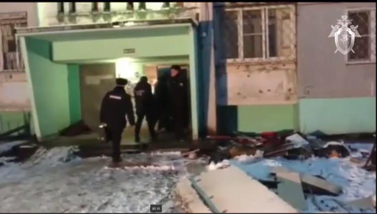 Появилось видео момента взрыва газа в Твери