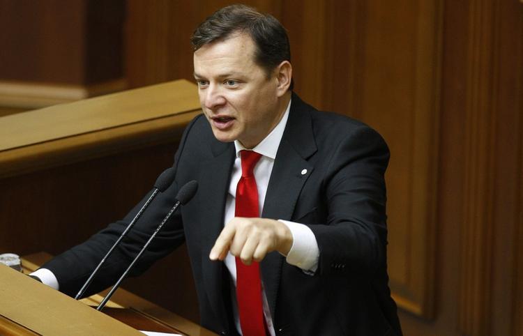На Украине завершилось досудебное расследование по делу о драке Ляшко с депутатом