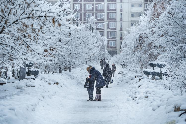 В рождественскую ночь в Москве пойдет снег