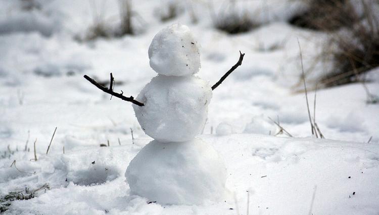 В Казани налепят снеговиков