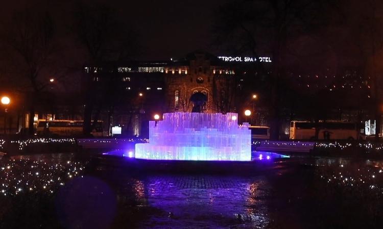 Эстония: фонтан добрых пожеланий