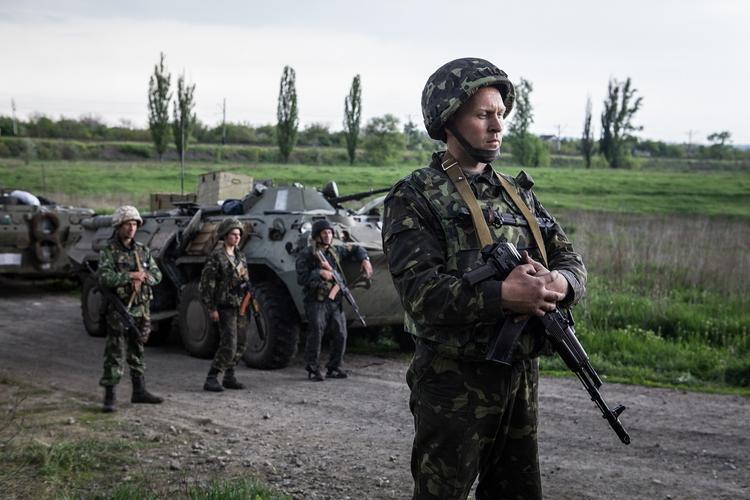 На востоке Украины ополченцы уничтожили военного из «рыцарской» бригады ВСУ