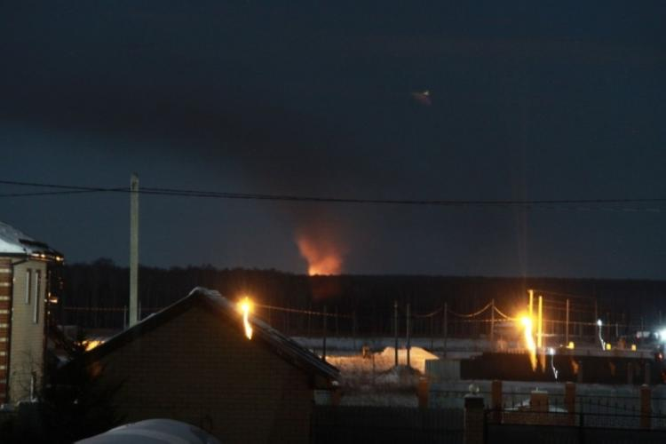 На полигоне ТБО в Полетаево не обнаружено возгорания