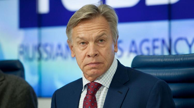 Пушков поставил диагноз Турчинову, обвиняющему РФ в трагедии с Боингом