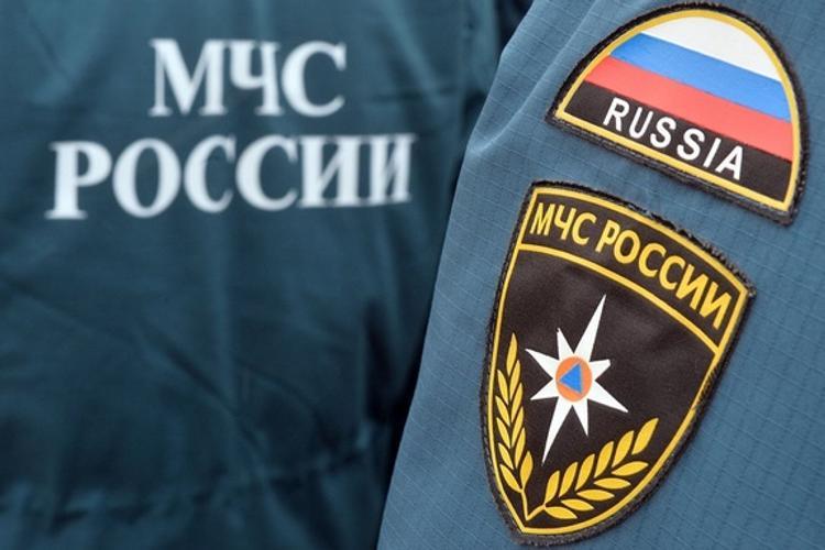 МЧС: в Москве до утра понедельника сохранится сильный ветер и гололед