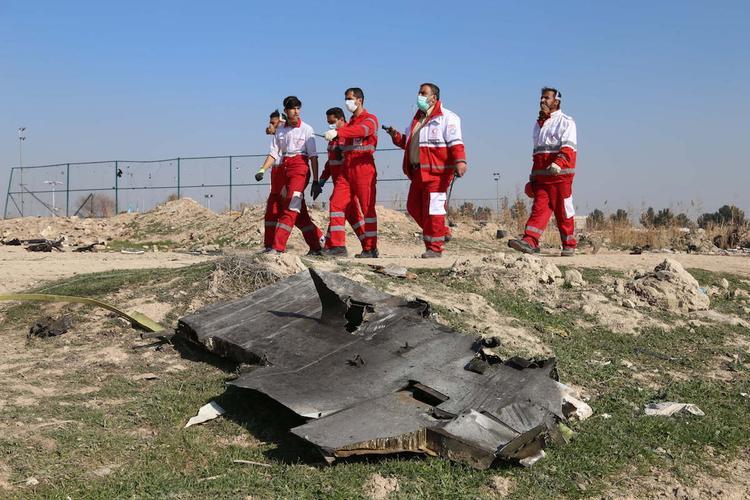 В Иране арестовали несколько человек по делу о крушении украинского самолета