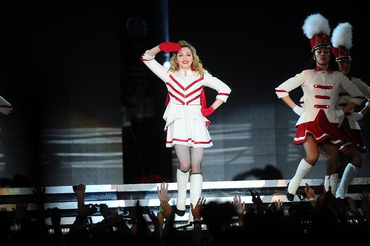 Мадонна отменила концерт в Лиссабоне перед самым началом выступления