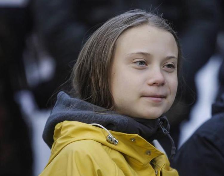 Грета Тунберг продолжает экологические марши по миру. На этот раз в Польше