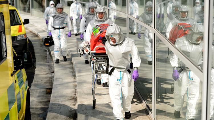 Новый грипп из Китая напугал мировые биржи