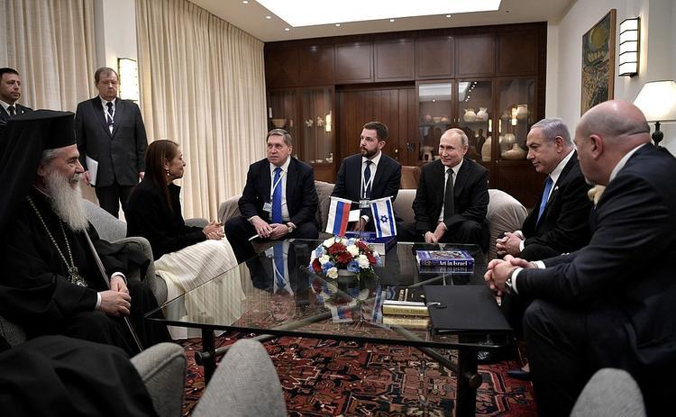 На церемонии в Израиле Путин был растроган, а Лавров прослезился