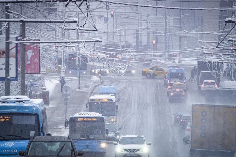 В Подмосковье завтра ожидаются сильный ветер и мокрый снег