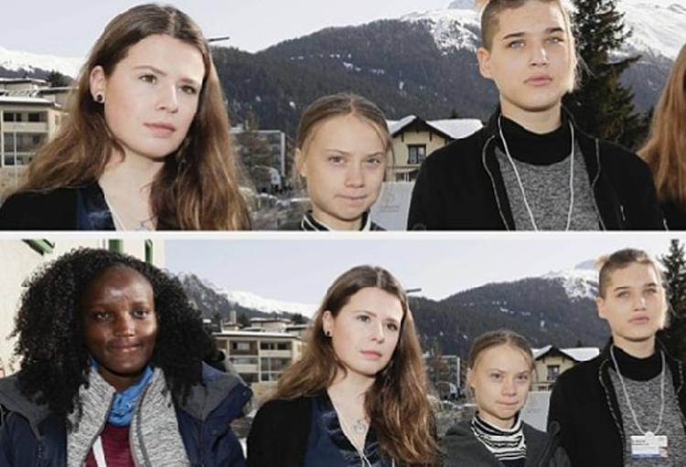 Грета Тунберг попала в расистский скандал