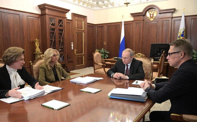 Путин оценил ситуацию с возможным распространением нового коронавируса на территории РФ