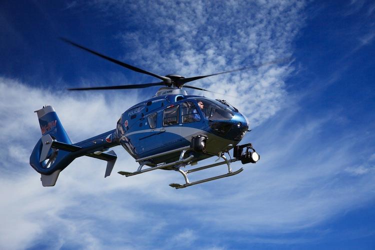 В Фукусиме вертолет японской полиции потерпел крушение