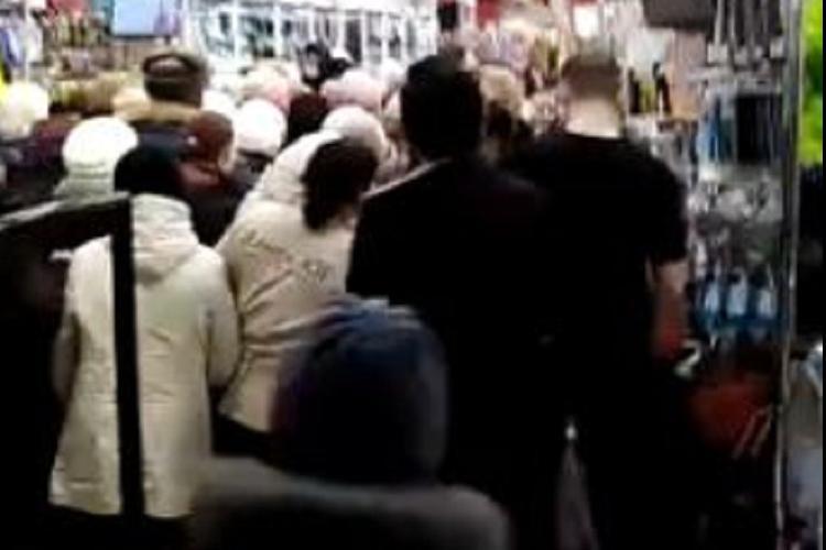 Скидка на стиральный порошок вызвала столпотворение в Оренбурге
