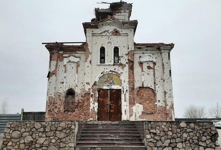 В Донецке слышны взрывы в окрестностях «монастыря на передовой»