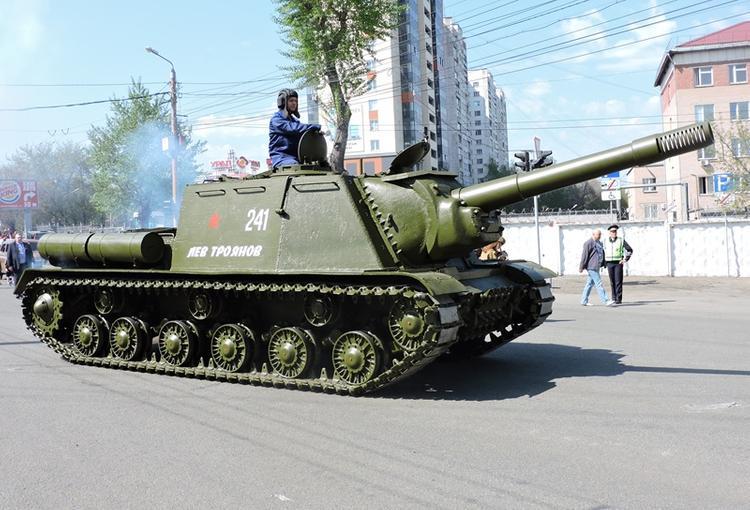 Челябинск занял второе место по выпуску танков в военные годы