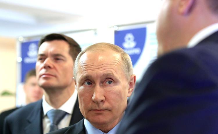 Путин  объяснил  причину увольнения экс-главы Чувашии Игнатьева