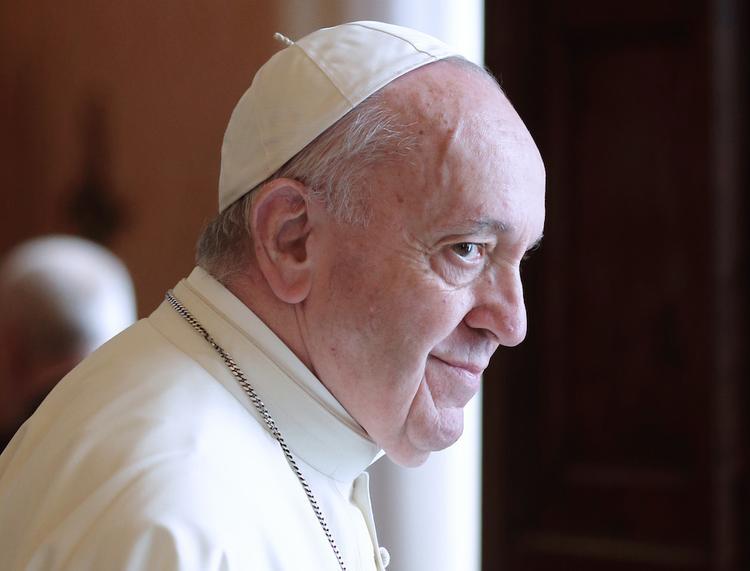 На днях Папа Римский проведет встречу с Зеленским