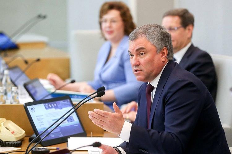 Спикер Госдумы заявил об ответственности СССР за нынешнее состояние регионов