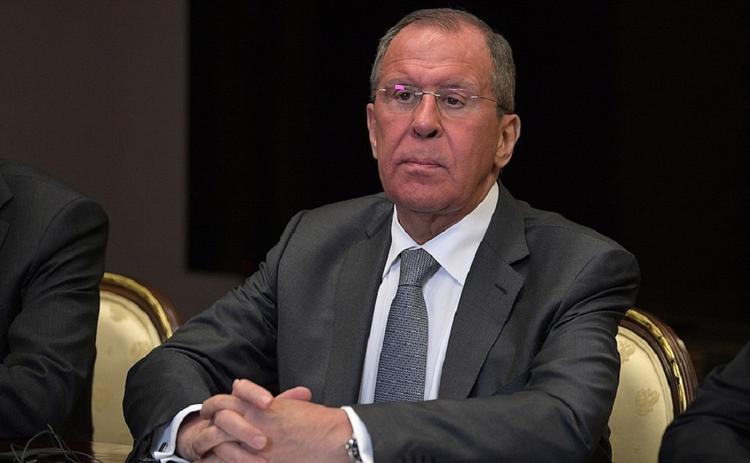 Лавров об угрозах США ввести санкции против