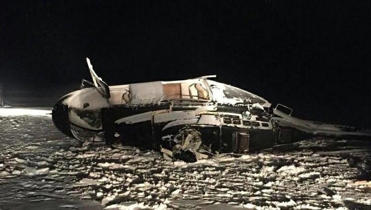 Очевидец рассказал о крушении вертолета с Хайруллиным в Татарстане