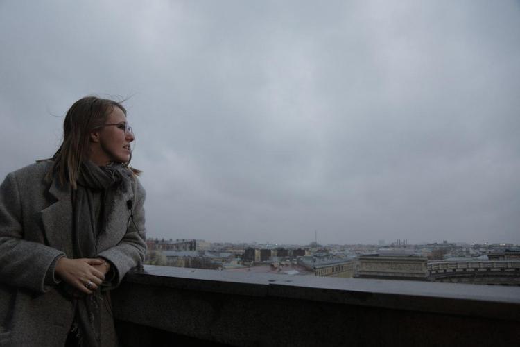 В день святого Валентина Ксения Собчак опубликовала