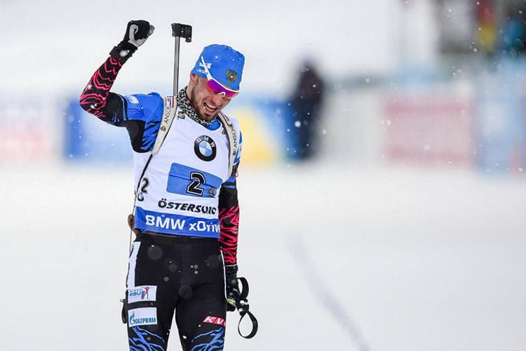 Россиянин Александр Логинов завоевал золото на чемпионате мира по биатлону
