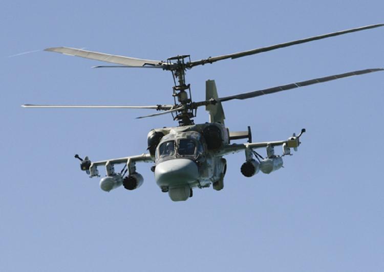 Модернизированный вертолет Ка-52М оснастят крылатой ракетой с дальностью до 100 км