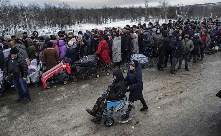 На украинской границе при проверке паспорта умер пенсионер